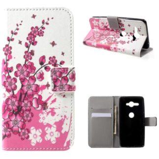 Plånboksfodral Sony Xperia XZ2 Compact - Körsbärsblommor
