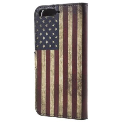 Plånboksfodral Huawei Y6 2018 - Flagga USA