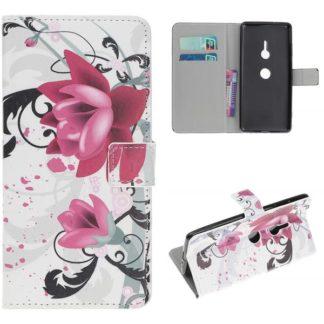 Plånboksfodral Sony Xperia XZ3 - Lotus