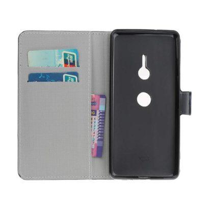 Plånboksfodral Sony Xperia XZ3 - Ankare