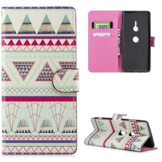Plånboksfodral Sony Xperia XZ3 - Aztek