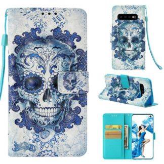 Plånboksfodral Samsung Galaxy S10 – Döskalle
