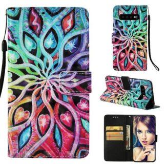 Plånboksfodral Samsung Galaxy S10 - Psykedeliskt