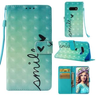 Plånboksfodral Samsung Galaxy S10e - Smile