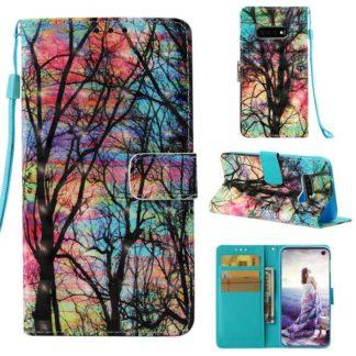 Plånboksfodral Samsung Galaxy S10e - Psykedeliskt