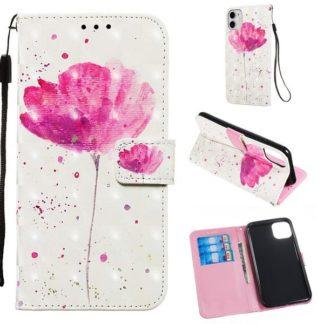 Plånboksfodral Apple iPhone 11 – Rosa Blomma