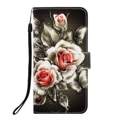 Plånboksfodral Apple iPhone 11 – Rosor