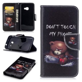 Plånboksfodral Samsung Xcover 4 / 4s - Don't Touch My Phone