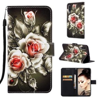 Plånboksfodral Samsung Galaxy A50 – Rosor