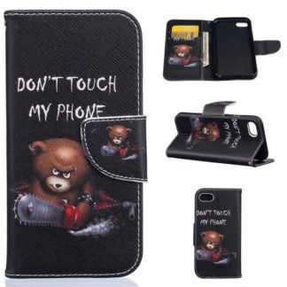 Plånboksfodral Apple iPhone 7 - Don't Touch My Phone