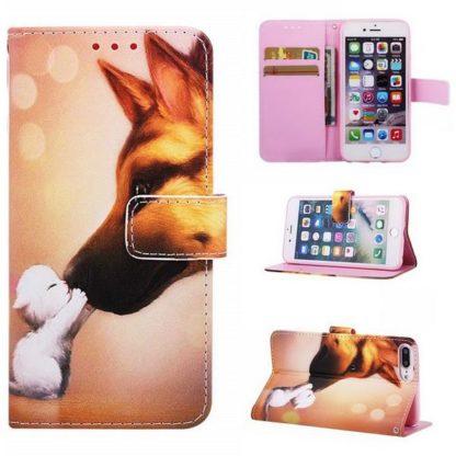 Plånboksfodral Apple iPhone 6 Plus / 6s Plus – Best Friends
