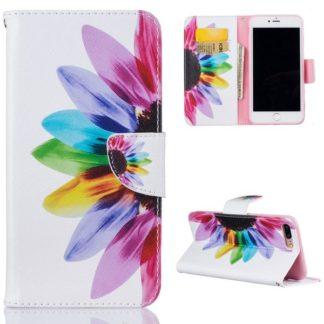 Plånboksfodral Apple iPhone 6 Plus / 6s Plus – Färgglad Blomma