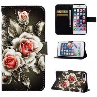 Plånboksfodral Apple iPhone 6 Plus / 6s Plus – Rosor