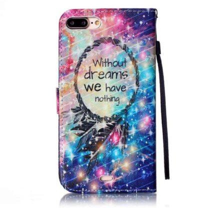 Plånboksfodral iPhone 6 Plus / 6s Plus - Without Dreams