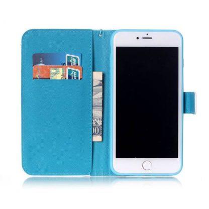 Plånboksfodral iPhone 6 Plus / 6s Plus - Paris Je T'aime