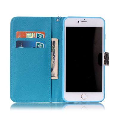 Plånboksfodral iPhone 6 Plus / 6s Plus – Utsmyckad Uggla