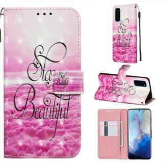 Plånboksfodral Samsung Galaxy S20 – Stay Beautiful