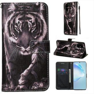 Plånboksfodral Samsung Galaxy S20 Plus – Tiger