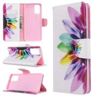 Plånboksfodral Samsung Galaxy S20 Plus – Färgglad Blomma