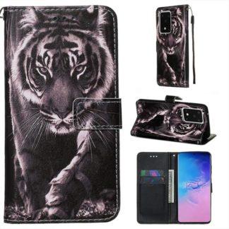 Plånboksfodral Samsung Galaxy S20 Ultra – Tiger