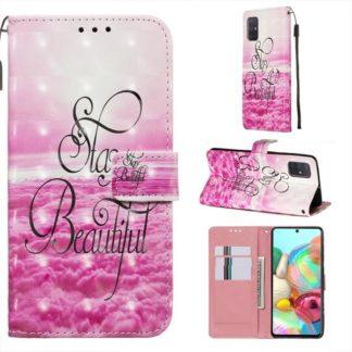 Plånboksfodral Samsung Galaxy A51 – Stay Beautiful
