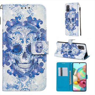 Plånboksfodral Samsung Galaxy A51 – Döskalle