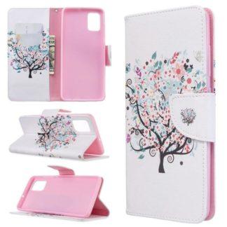 Plånboksfodral Samsung Galaxy A51 – Färgglatt Träd