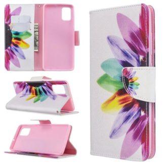 Plånboksfodral Samsung Galaxy A71 – Färgglad Blomma