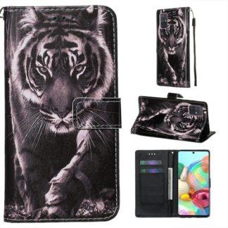 Plånboksfodral Samsung Galaxy A71 – Tiger