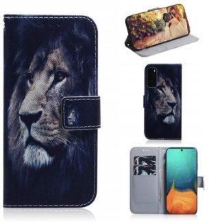 Plånboksfodral Samsung Galaxy S20 - Lejon