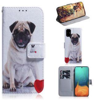 Plånboksfodral Samsung Galaxy A51 – Mops
