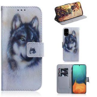 Plånboksfodral Samsung Galaxy A71 – Varg