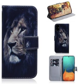 Plånboksfodral Samsung Galaxy A71 - Lejon