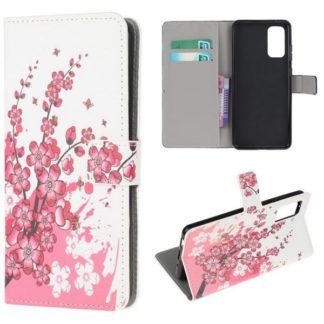 Plånboksfodral Samsung Galaxy S20 - Körsbärsblommor