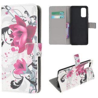 Plånboksfodral Samsung Galaxy S20 - Lotus