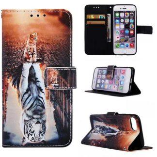 Plånboksfodral iPhone SE (2020) – Reflektion