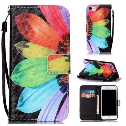 Plånboksfodral iPhone SE (2020) - Solros