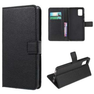 Plånboksfodral Samsung Galaxy A41 - Svart