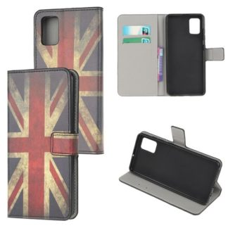 Plånboksfodral Samsung Galaxy A41 - Flagga UK