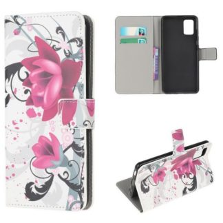 Plånboksfodral Samsung Galaxy A41 - Lotus
