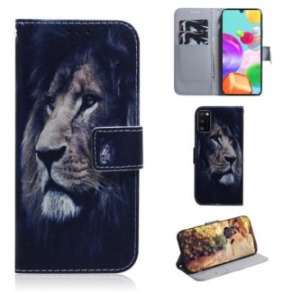 Plånboksfodral Samsung Galaxy A41 - Lejon