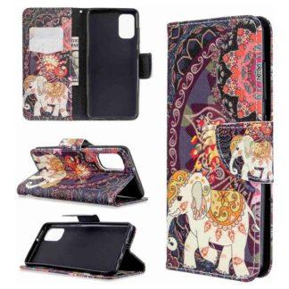 Plånboksfodral Samsung Galaxy A71 – Indiskt / Elefant