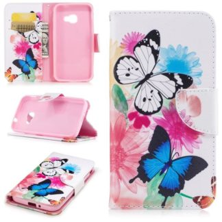 Plånboksfodral Samsung Xcover 4 / 4s – Färgglada Fjärilar