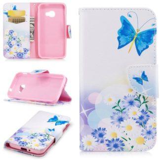 Plånboksfodral Samsung Xcover 4 / 4s – Fjärilar och Blommor