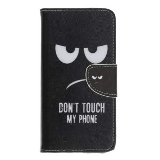 Plånboksfodral Samsung Xcover 4 / 4s – Don't Touch My Phone