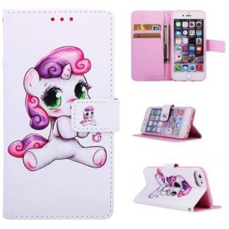 Plånboksfodral Apple iPhone 7 – Enhörning