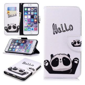 Plånboksfodral Apple iPhone 6 – Hello Panda