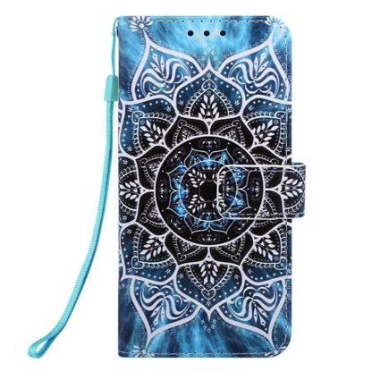 Plånboksfodral Apple iPhone 6 Plus – Blå Mandala