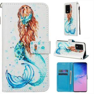 Plånboksfodral Samsung Galaxy S20 Ultra – Sjöjungfru