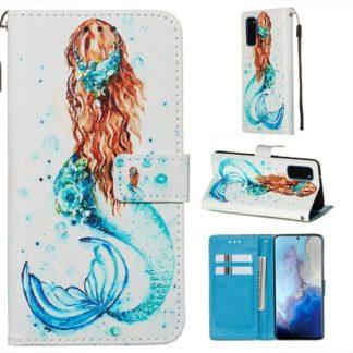Plånboksfodral Samsung Galaxy S20 – Sjöjungfru